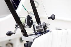 αλιεύοντας εξέλικτρα Στοκ Εικόνα