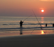 αλιεύοντας θάλασσα στοκ φωτογραφία με δικαίωμα ελεύθερης χρήσης