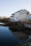 αλιεύοντας καλύβα της νέ&alp Στοκ εικόνες με δικαίωμα ελεύθερης χρήσης