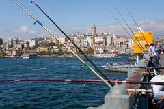 αλιεύοντας Κωνσταντινο Στοκ Φωτογραφίες