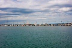 αλιεύοντας λιμάνι Στοκ φωτογραφία με δικαίωμα ελεύθερης χρήσης