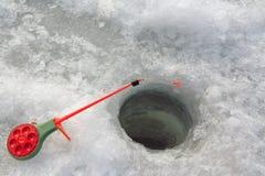 αλιεύοντας πάγος Στοκ εικόνες με δικαίωμα ελεύθερης χρήσης