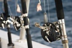 αλιεύοντας ράβδοι Στοκ Φωτογραφία