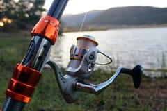 Αλιεύοντας ράβδος Στοκ Εικόνες