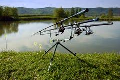 αλιεύοντας ράβδοι Στοκ φωτογραφίες με δικαίωμα ελεύθερης χρήσης