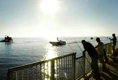 αλιεύοντας Φλώριδα Στοκ Φωτογραφία
