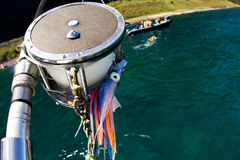 αλιεύοντας Χαβάη Στοκ εικόνα με δικαίωμα ελεύθερης χρήσης