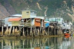 αλιεύοντας χωριό ο tai Στοκ Εικόνες