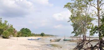 αλιεύοντας χωριό πανοράμ&alpha στοκ φωτογραφία με δικαίωμα ελεύθερης χρήσης