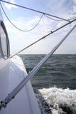 αλιεύοντας saltwater αθλητικό γιοτ Στοκ Φωτογραφίες
