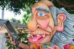 Αλληγορικό επιπλέον σώμα που απεικονίζει τους διάφορους χαρακτήρες φαντασίας στοκ φωτογραφία με δικαίωμα ελεύθερης χρήσης