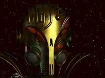 αλλοδαπό cyborg στοκ φωτογραφία με δικαίωμα ελεύθερης χρήσης