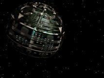 αλλοδαπό spaceship Στοκ Φωτογραφίες