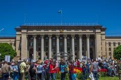 ΑΛΜΆΤΙ, ΚΑΖΑΚΣΤΑΝ - 9 ΜΑΐΟΥ: Νίκη εορτασμού ημέρας νίκης μέσα Στοκ Φωτογραφίες