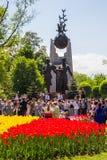 ΑΛΜΆΤΙ, ΚΑΖΑΚΣΤΑΝ - 9 ΜΑΐΟΥ: Νίκη εορτασμού ημέρας νίκης μέσα Στοκ φωτογραφίες με δικαίωμα ελεύθερης χρήσης