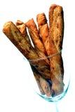 αλμυρά ραβδιά τυριών Στοκ Εικόνα