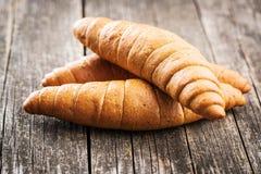 Αλμυροί ρόλοι ψωμιού Στοκ φωτογραφία με δικαίωμα ελεύθερης χρήσης