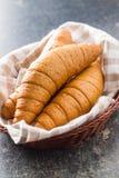 Αλμυροί ρόλοι ψωμιού Στοκ Εικόνα