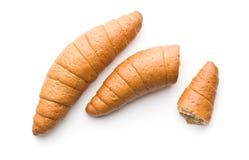 Αλμυροί ρόλοι ψωμιού Στοκ εικόνες με δικαίωμα ελεύθερης χρήσης