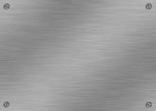 αλουμίνιο που βουρτσίζεται Στοκ εικόνες με δικαίωμα ελεύθερης χρήσης