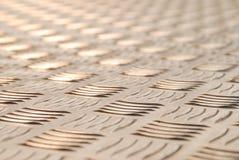 αλουμίνιο treadplate Στοκ εικόνες με δικαίωμα ελεύθερης χρήσης