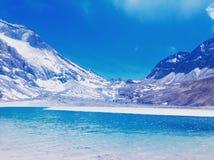 αλπική λίμνη στοκ φωτογραφία