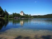αλπική λίμνη fuschl Στοκ Εικόνες