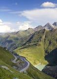 Αλπικός δρόμος βουνών Στοκ Εικόνα