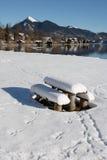 αλπικός χειμώνας Στοκ φωτογραφίες με δικαίωμα ελεύθερης χρήσης
