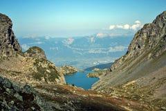 αλπικό βουνό λιμνών Στοκ Φωτογραφία