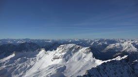 Αλπικό πανόραμα από το Zugspitze φιλμ μικρού μήκους
