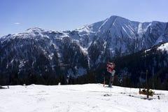 Αλπικό χιονοδρομικό κέντρο Serfaus Fiss Ladis στην Αυστρία Στοκ φωτογραφίες με δικαίωμα ελεύθερης χρήσης