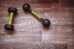 Αλτήρες για τον αθλητισμό και τους υγιείς τρόπους ζωής Στοκ Φωτογραφία