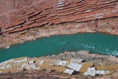 Αλυκές στο Θιβέτ στοκ φωτογραφία