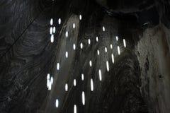Αλυκή Turda Ρουμανία αλατισμένων ορυχείων στοκ εικόνες