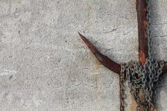 αλυσίδα αγκυλών που καλύπτεται Στοκ Εικόνες