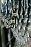αλυσίδα κασετών στοκ φωτογραφία