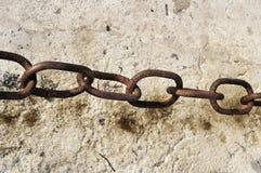 αλυσίδα σκουριασμένη Στοκ εικόνα με δικαίωμα ελεύθερης χρήσης
