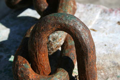 αλυσίδες βιομηχανικές Στοκ φωτογραφία με δικαίωμα ελεύθερης χρήσης