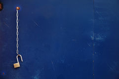 αλυσοδεμένο κλείδωμα &alp στοκ φωτογραφίες