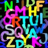 αλφάβητο άνευ ραφής Στοκ Φωτογραφίες