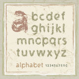 αλφάβητο αγγλικά Στοκ εικόνες με δικαίωμα ελεύθερης χρήσης