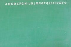 αλφάβητο αγγλικά Στοκ Φωτογραφία