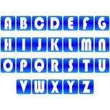 Αλφάβητο πηγών τύπων τυπογραφίας τέχνης σχεδίου απεικόνισης abc απεικόνιση αποθεμάτων