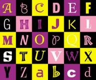 αλφάβητο Στοκ εικόνα με δικαίωμα ελεύθερης χρήσης