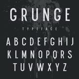 Αλφάβητο 006 Grunge απεικόνιση αποθεμάτων
