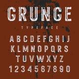Αλφάβητο 008 Grunge ελεύθερη απεικόνιση δικαιώματος