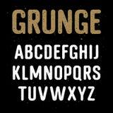 Αλφάβητο 001 Grunge ελεύθερη απεικόνιση δικαιώματος