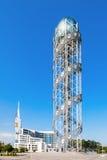 Αλφαβητικός πύργος, Batumi στοκ εικόνες