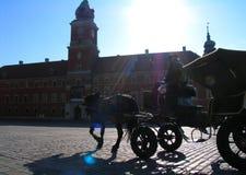 αμάξι Βαρσοβία Στοκ Φωτογραφία